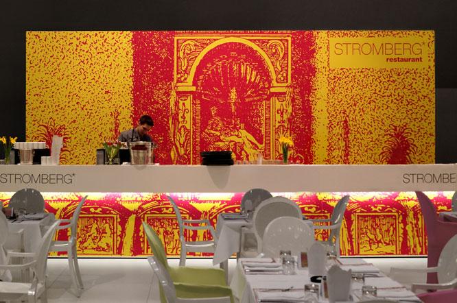 Restaurantbranding auf der ISPO München