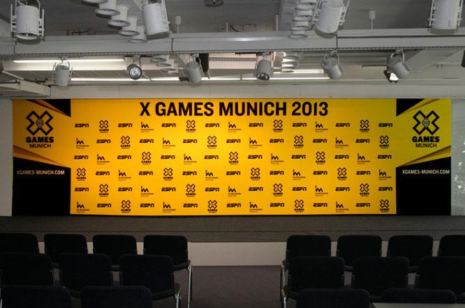 Banner München für Sportevent