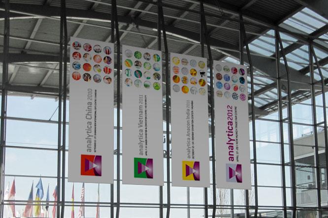 Vertikaler Banner