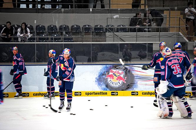 Werbetechnik Digitaldruck Werbebanden Einshockey